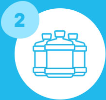 bottle size/type icon