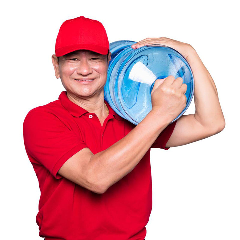 Get a Fast 5 Gallon Water Jug Refill Delivery in LA
