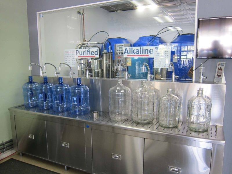 24 Hour Water Vending Machines