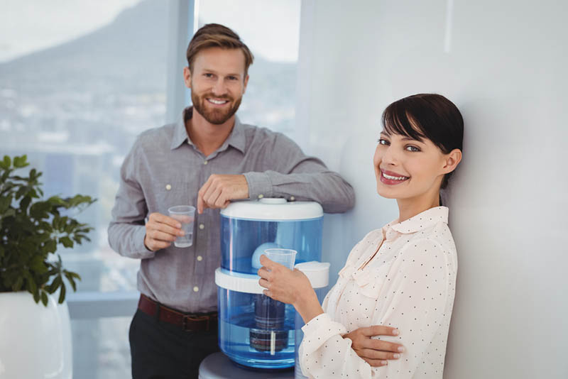 an Alkaline Water Dispenser