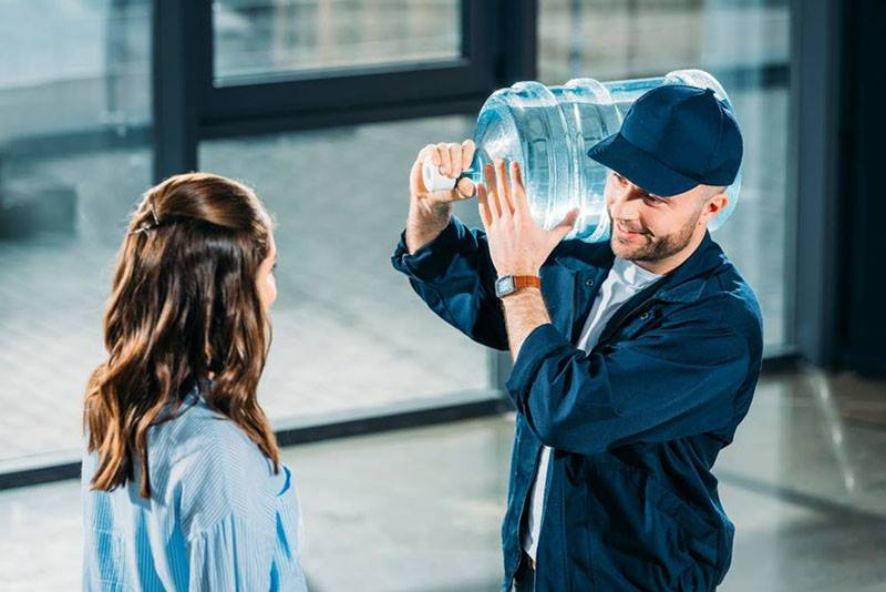 glass bottled water delivery